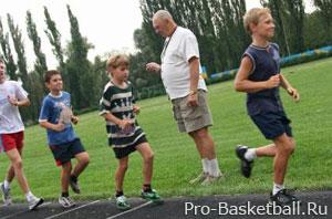 Нормативы для детей в баскетболе