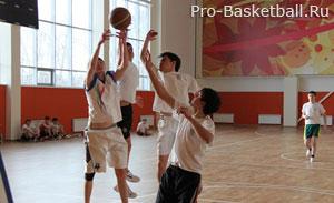 Второй этап отбора баскетболистов