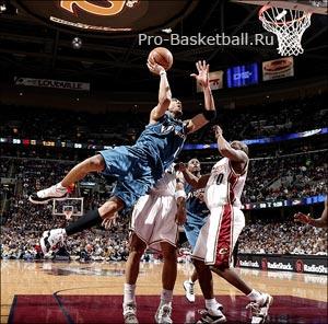 Уровень развития баскетболистов