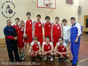 Детская секция баскетбола