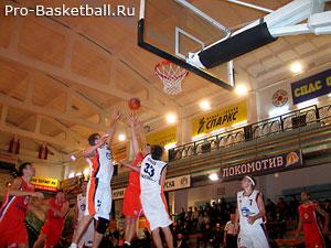 Упорство в баскетболе