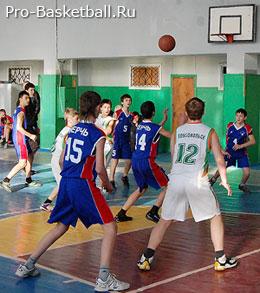 Воспитание баскетболистов