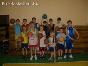 Юные баскетболисты