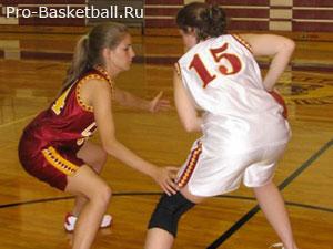 Технические приемы баскетбола