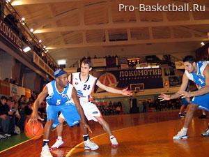 Технические приемы в баскетболе