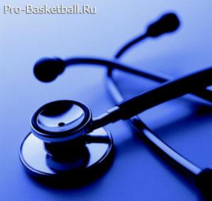 Врачебный контроль в Баскетболе