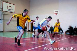 Баскетбол первые шаги