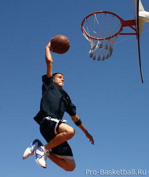 Большая скорость баскетбола