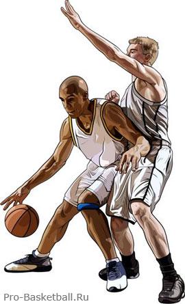 Движение кистью в баскетболе