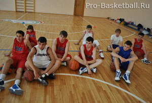 Обучение баскетболу