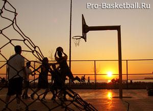Отступающий шаг в баскетболе