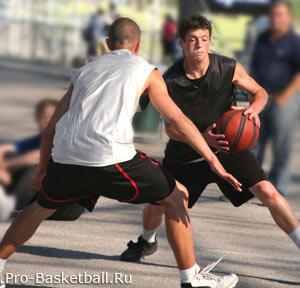 Передвижения в баскетболе