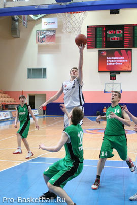 Поворот в баскетболе