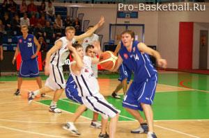 Техники передачи мяча в баскетболе