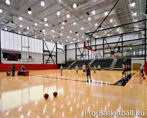 Тренировка в баскетболе