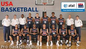 Баскетбол состав команды