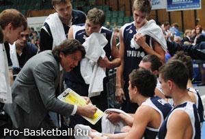 Поведение тренера по баскетболу